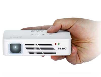 ویدئو پروژکتور اکسا AAXA ST200 : جیبی، رزولوشن 1280x720  HD