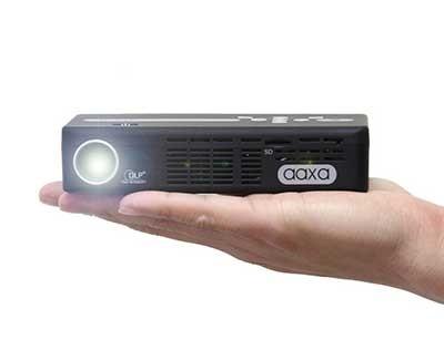 ویدئو پروژکتور اکسا AAXA P4-X : جیبی، رزولوشن 854x480  WVGA