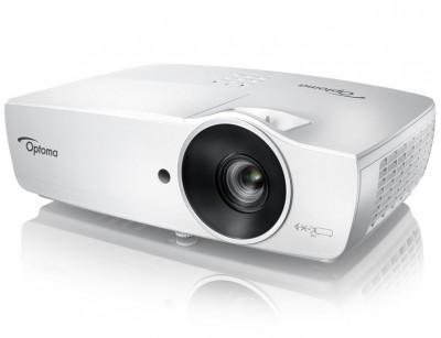 ویدئو پروژکتور اپتما Optoma EH465 : خانگی، 3D، روشنایی 4800 لومنز، رزولوشن 1920x1080 HD