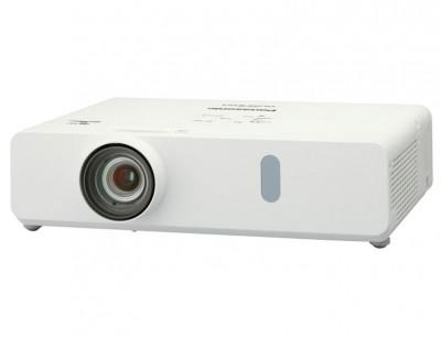 ویدئو پروژکتور پاناسونیک Panasonic VW350 : آموزشی، اداری، روشنایی 4000 لومنز، رزولوشن 1280x800  WXGA