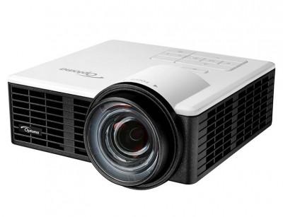 ویدئو پروژکتور اپتما Optoma ML1050ST : آموزشی، اداری، قابل حمل، روشنایی 1000 لومنز، رزولوشن WXGA 1280x800