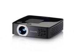 ویدئو پروژکتور فیلیپس Philips PicoPix PPX2495 : قابل حمل، رزولوشن 854x480 WVGA