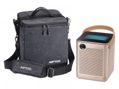 ویدئو پروژکتور قابل حمل بی سیم ایپتک aiptek boombox projector p800 دارای تبلت
