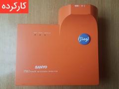 ویدئو پروژکتور سانیو Sanyo PLC-XE40: دست دوم، پرتاب کوتاه