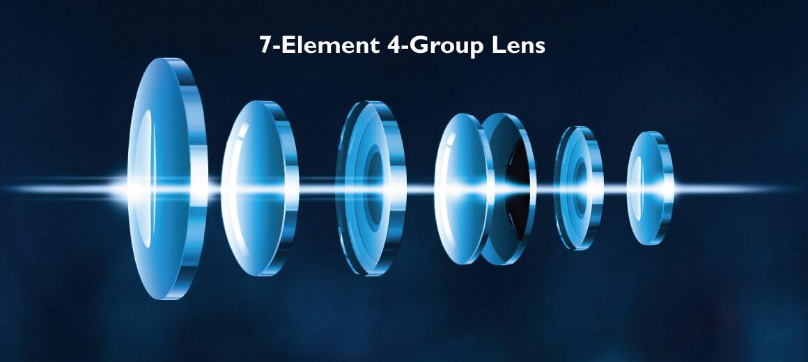 سیستم لنز 4K با اپتیک بی نظیر